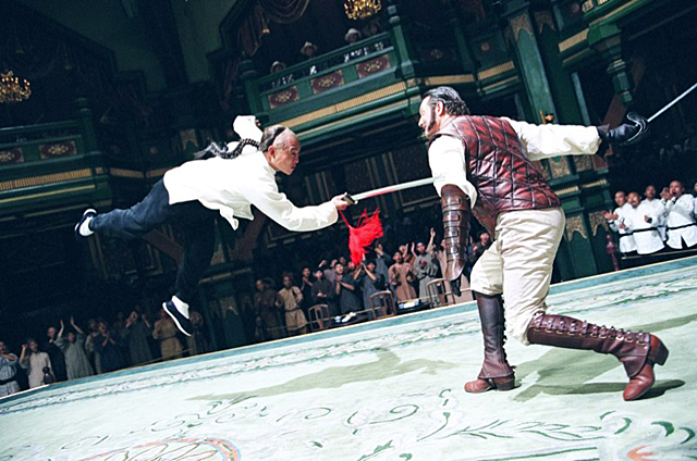 Anthony De Longis battles Jet Li in Fearless