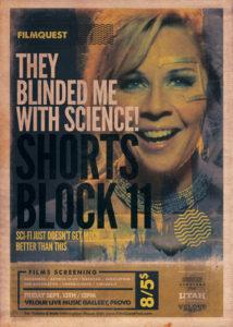 FilmQuest Poster Featuring Hashtag Gigi Edgley